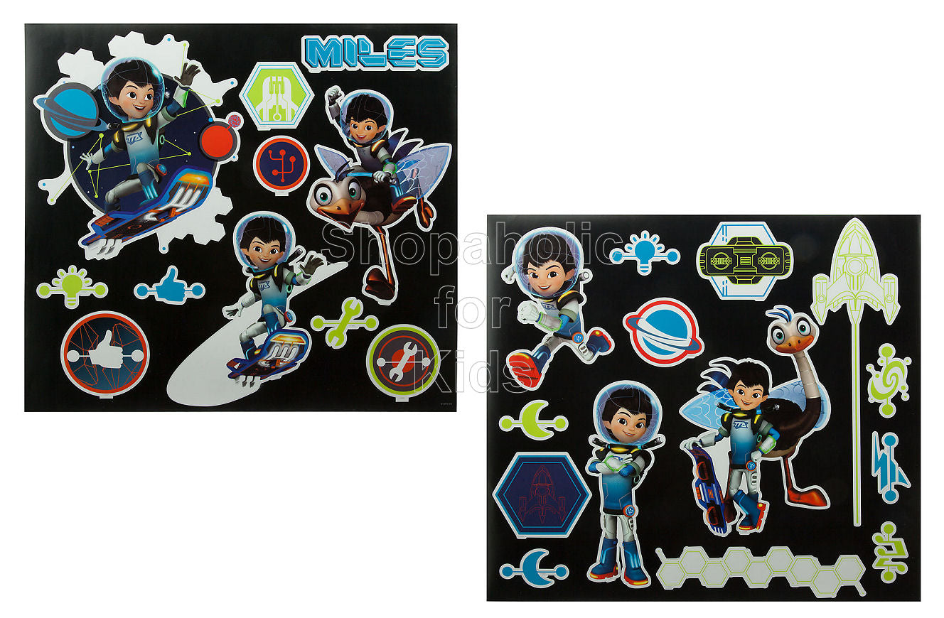 Disney Miles from Tomorrowland Wall Decals - Shopaholic for Kids