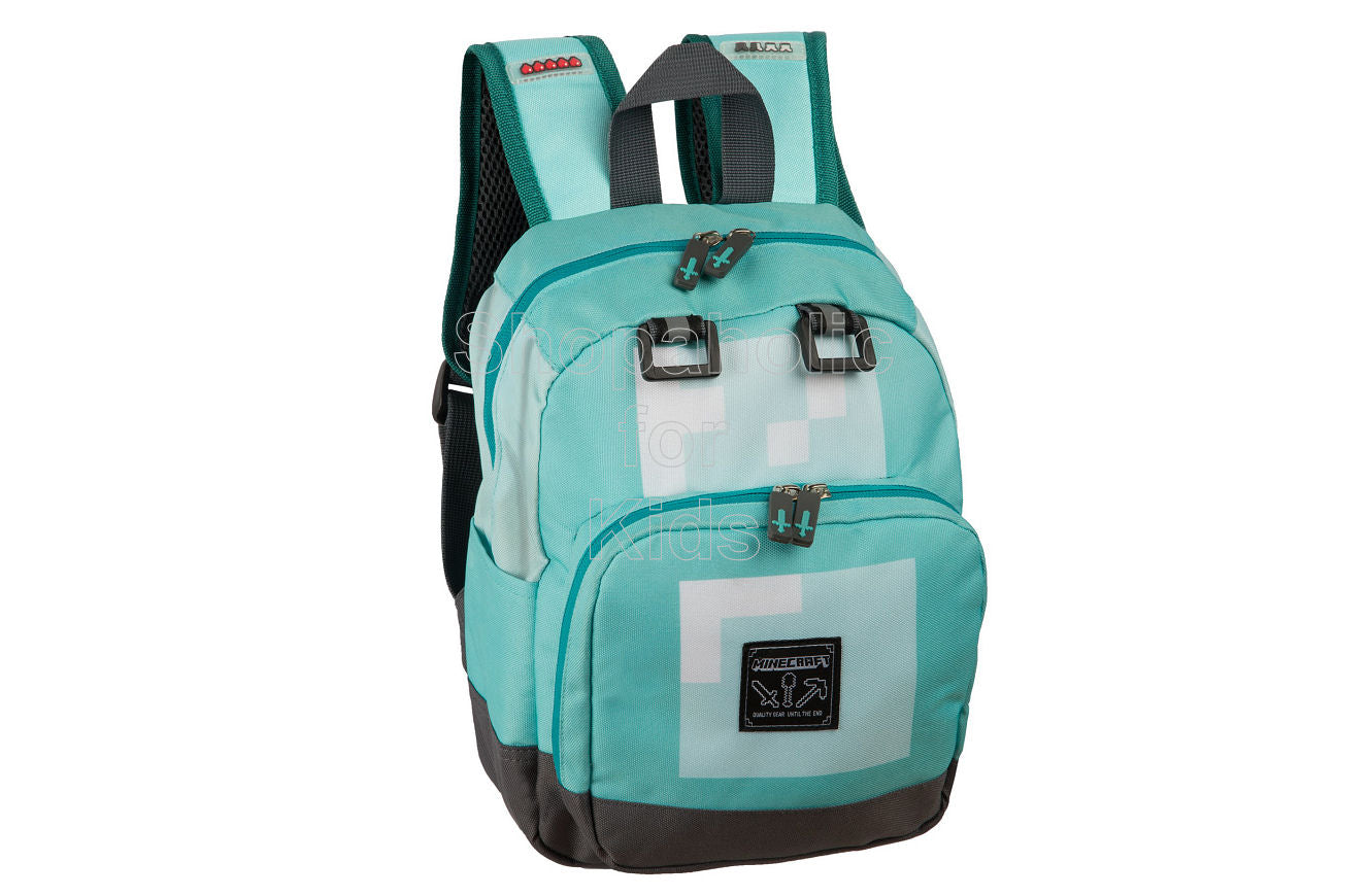 Minecraft Block Mini Backpack - Teal - Shopaholic for Kids