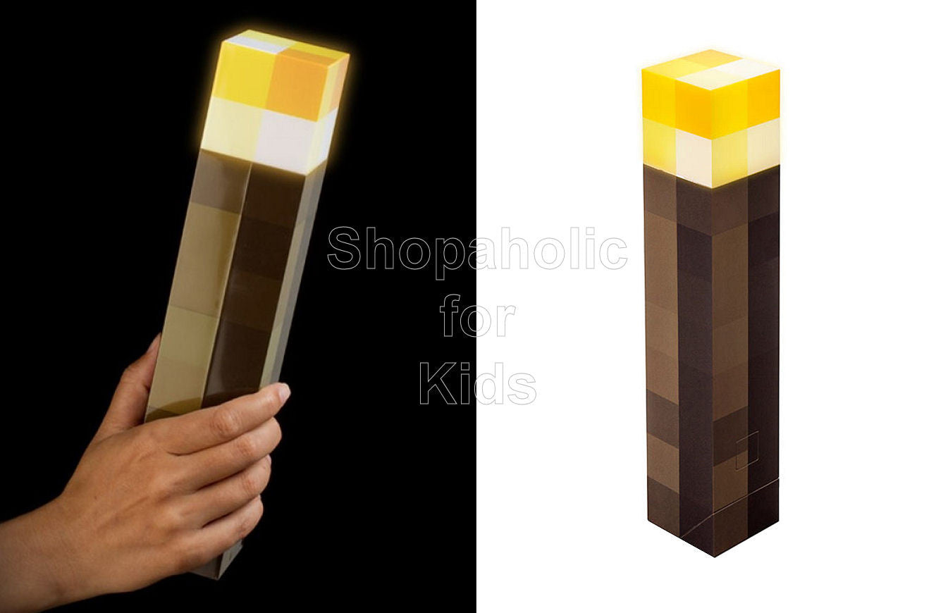 Minecraft Light Up Torch - Shopaholic for Kids