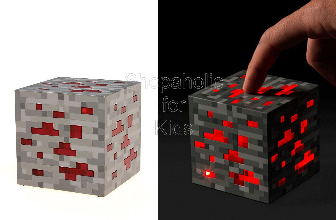 Minecraft Light-Up Redstone Ore - Shopaholic for Kids