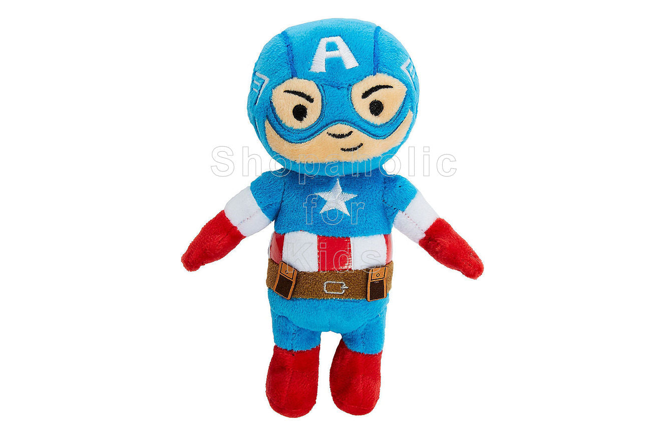 Marvel Avengers Mini Captain America Plush - Shopaholic for Kids