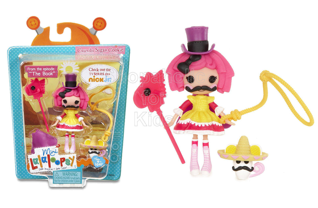 Mini Lalaloopsy Moments in Time Doll - Crumbs