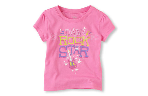 Children's Place Mini Rock Star Graphic Tee