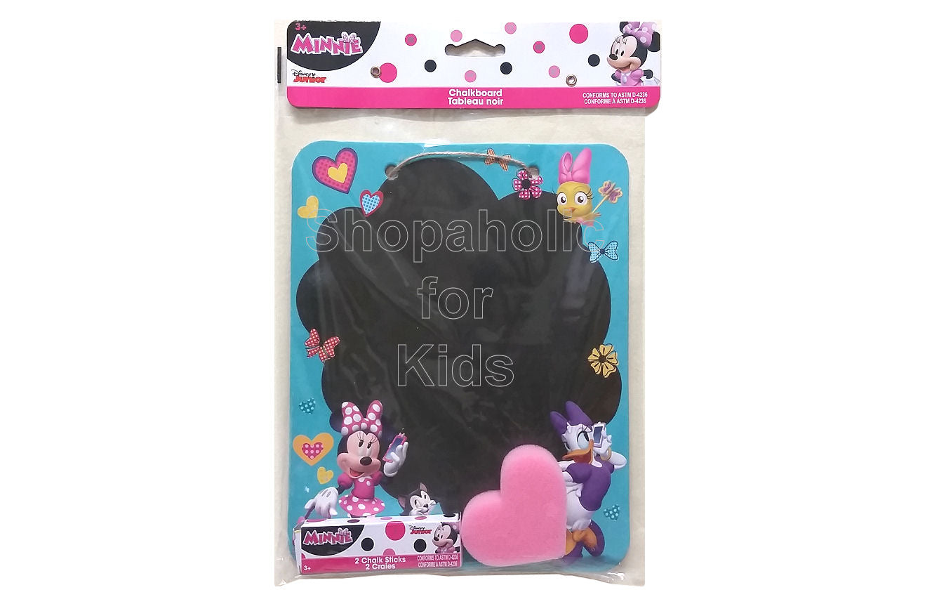Disney Minnie Mouse Chalkboard Sign Set - Shopaholic for Kids