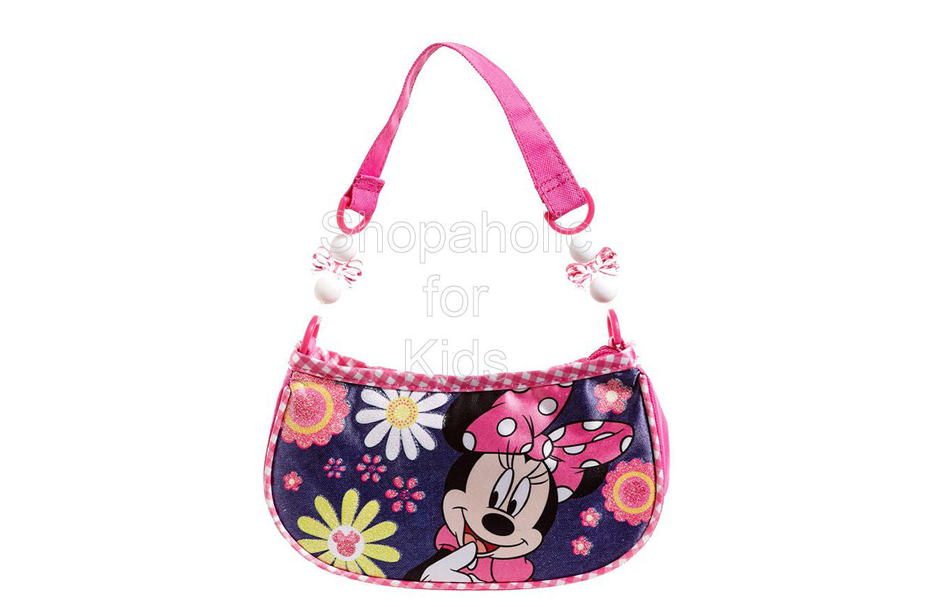 Minnie Mouse Glittering Handbag - Shopaholic for Kids