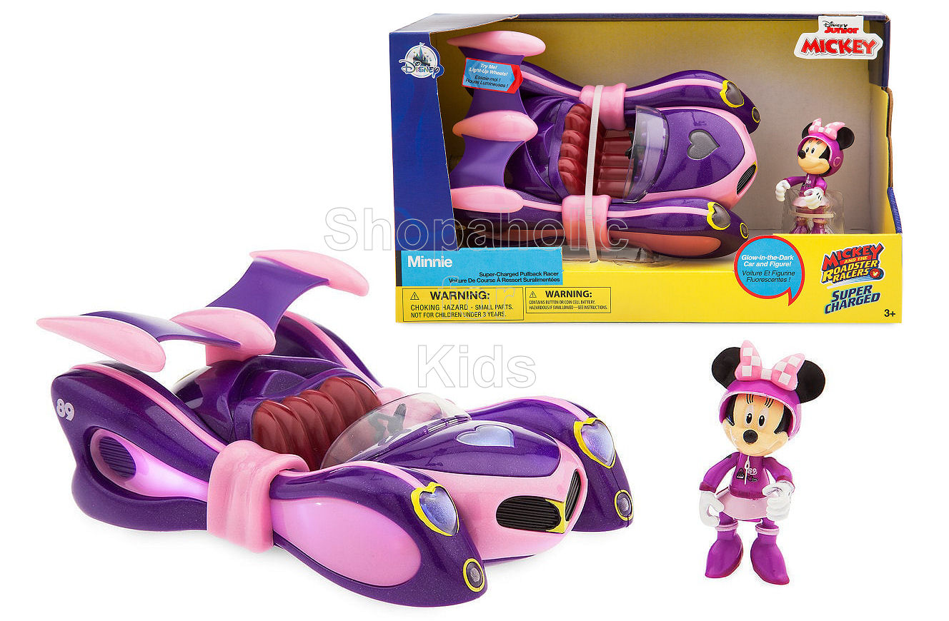 Disney Minnie Mouse Light-Up Racer