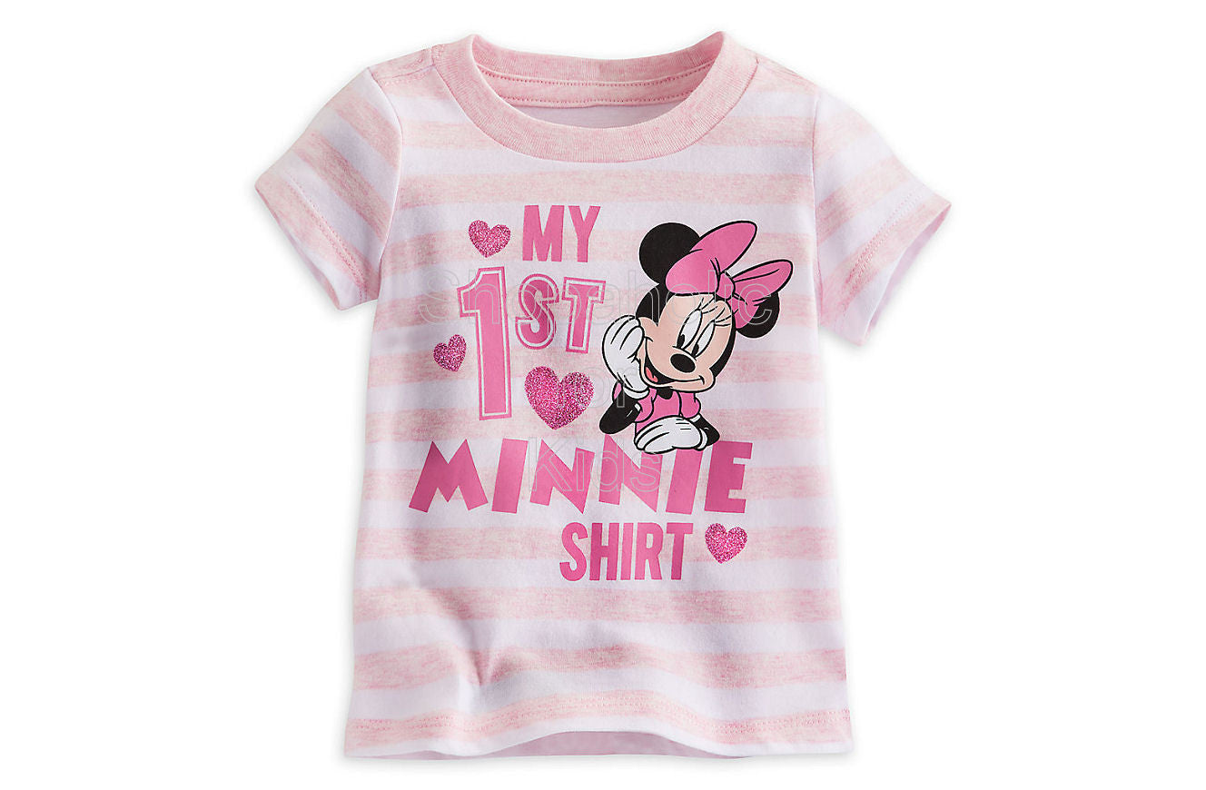 Minnie Mouse ''My First'' Tee - Shopaholic for Kids