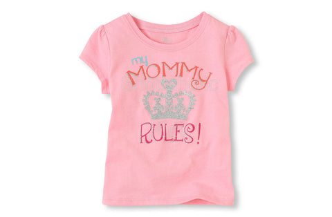 Children's Place Mommy Rules Graphic Tee