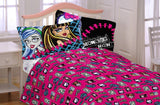 Monster High All Ghouls Allowed Bedding Twin Sheet Set - Shopaholic for Kids