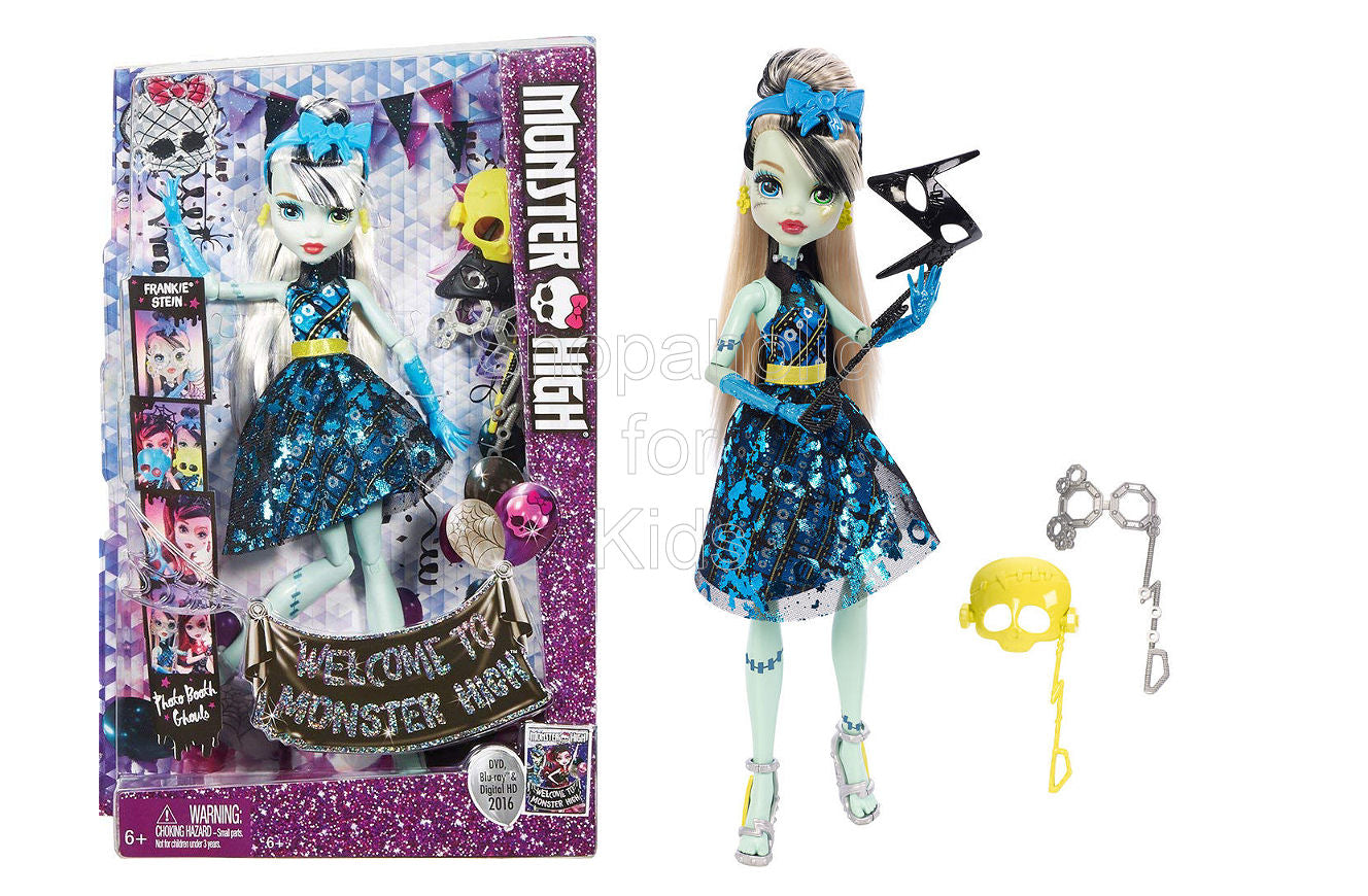 Monster High Photo Booth Ghouls Doll Frankie Stein Shopaholic