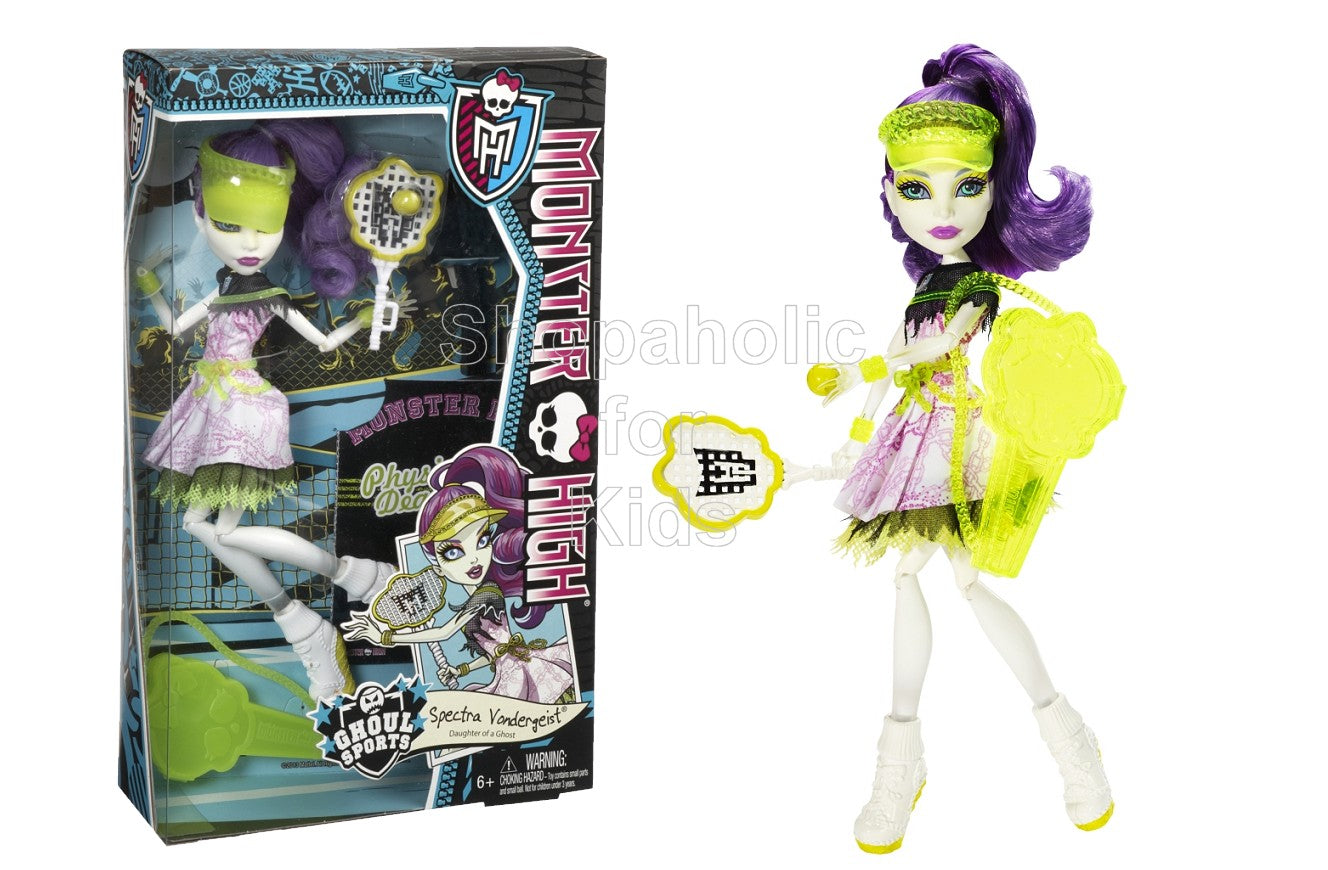 Monster High Ghoul Sports Spectra Vondergeist Doll - Shopaholic for Kids