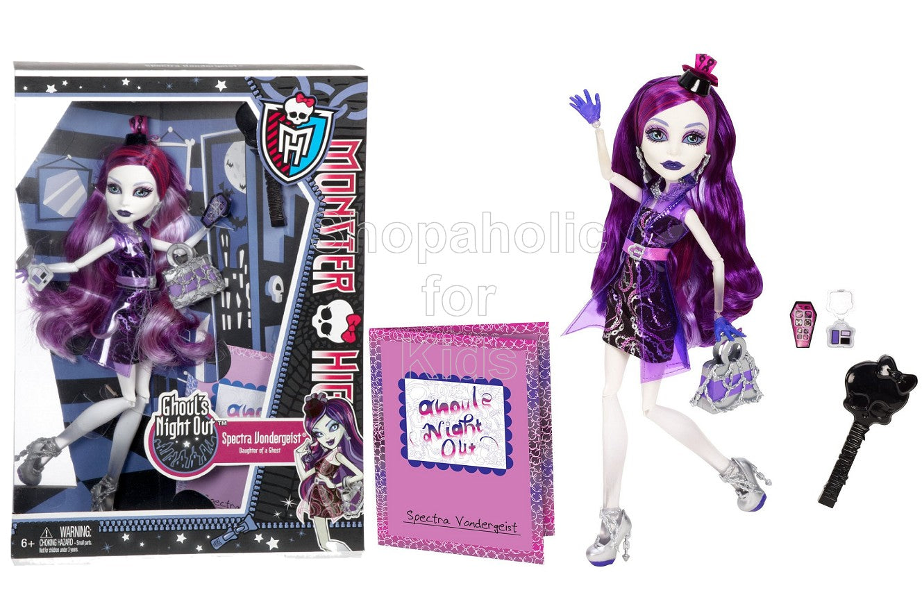 Monster High Ghouls Night Out Spectra Vondergeist Doll