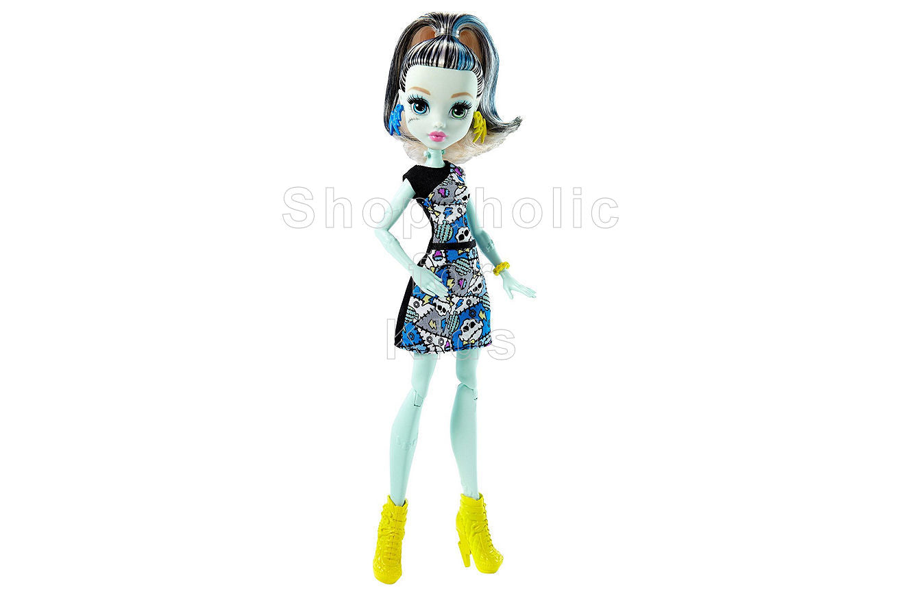 Monster High How Do You Boo? Frankie Stein Doll - Shopaholic for Kids