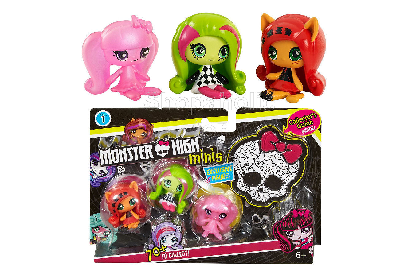 Monster High Minis 3-Pack #2