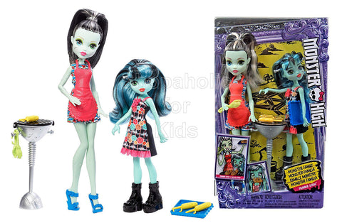 Monster High Monster Family Dolls - Frankie Stein & Alivia Stein Dolls