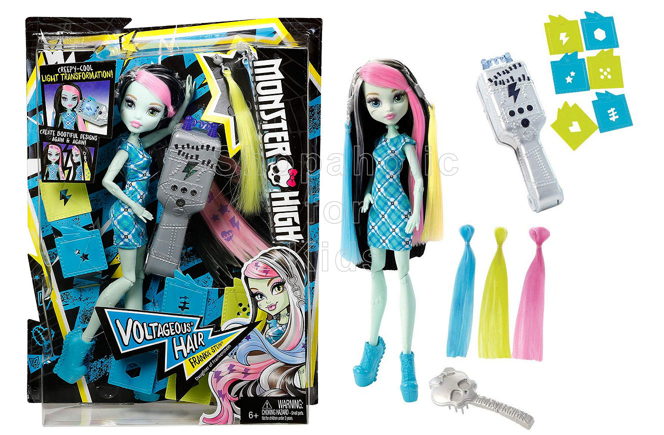 Monster High Voltageous Hair Frankie Stein Doll - Shopaholic for Kids