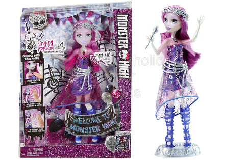 Monster High Welcome to Singing Popstar Ari Hauntington Doll