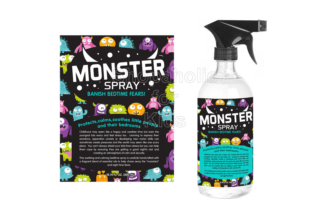 Theodore's Home Care Pure Natural Monster Spray - Shopaholic for Kids