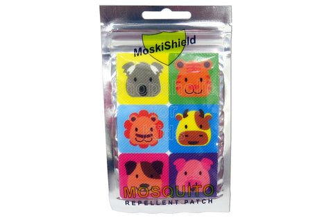 MoskiShield Mosquito Repellent Patch 6pcs