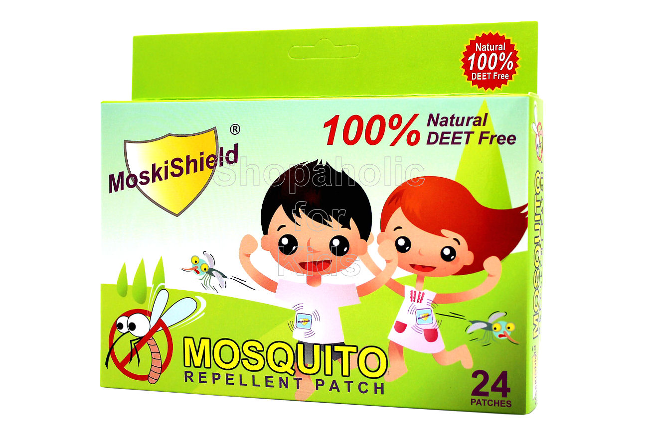 MoskiShield Mosquito Repellent Patch 24pcs - Shopaholic for Kids