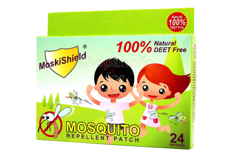 MoskiShield Mosquito Repellent Patch 24pcs