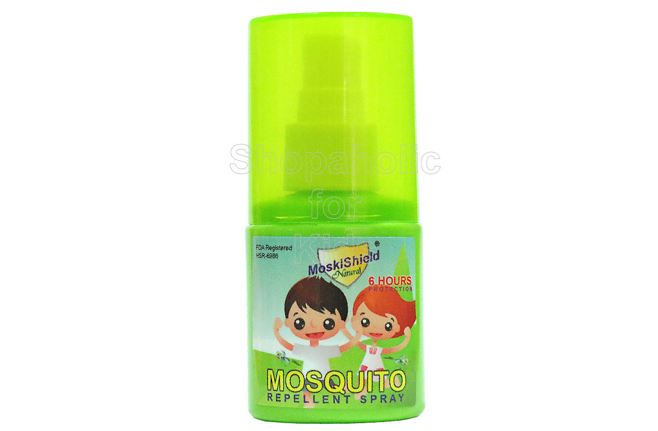 MoskiShield Natural Insect Repellent Spray 30ml - Shopaholic for Kids