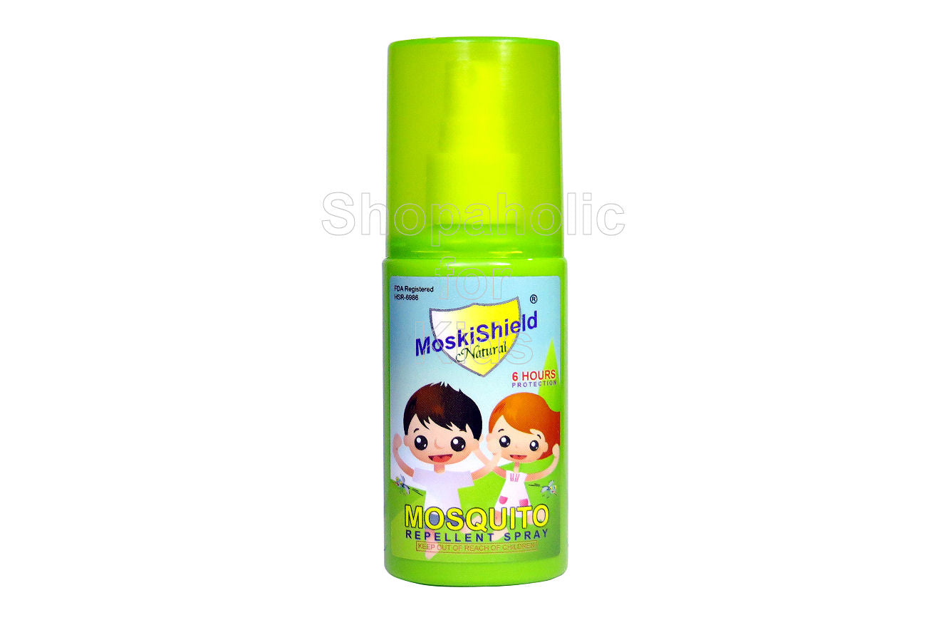MoskiShield Natural Insect Repellent Spray 60ml - Shopaholic for Kids