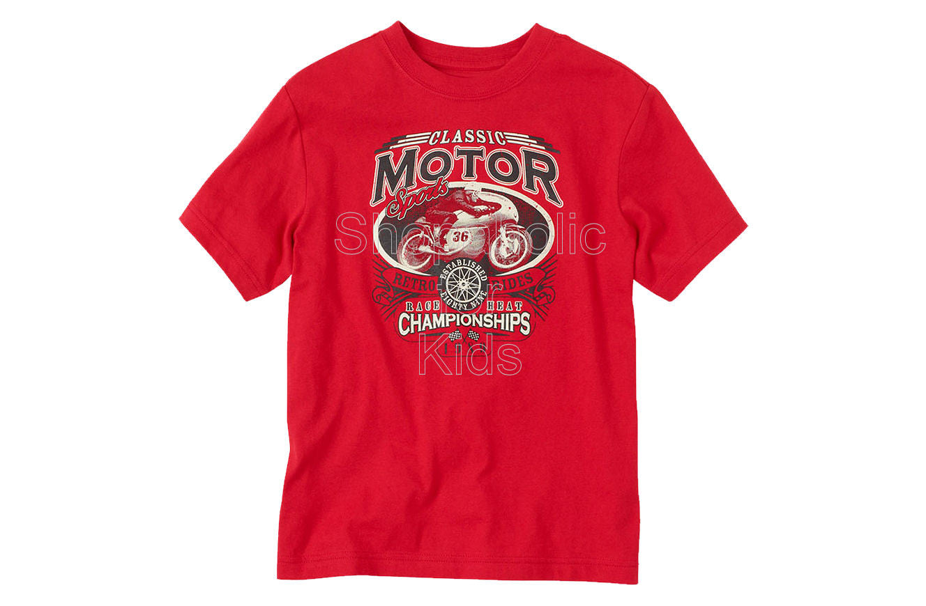 Children's Place Motor Champ Graphic Tee