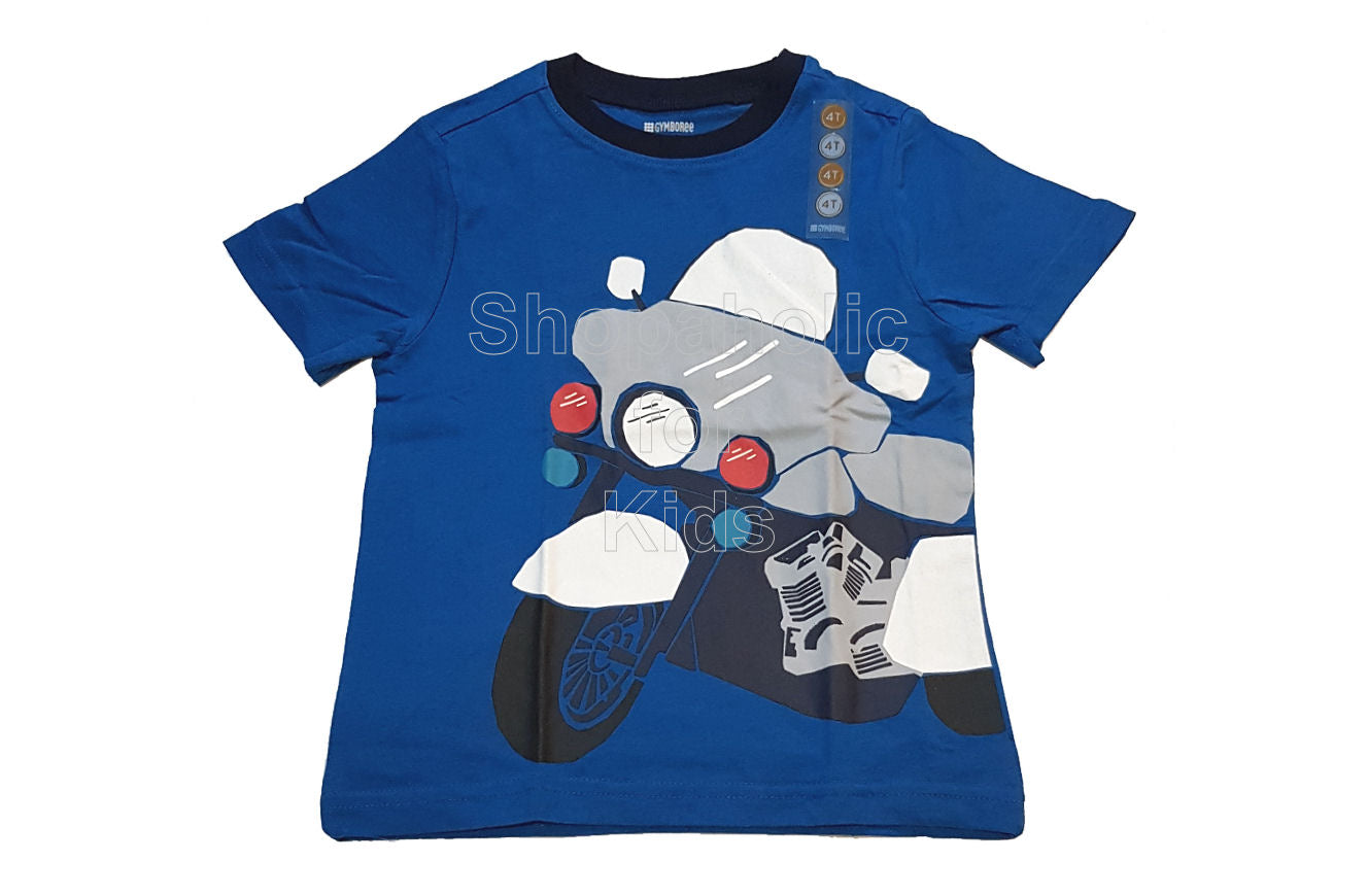 Gymboree Motorcyle Tee for Boys - Shopaholic for Kids