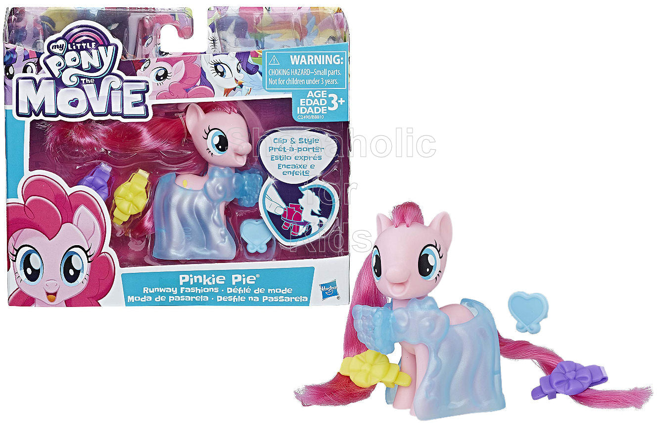 My Little Pony Clip and Style Runway Fashions Set Pinkie Pie - Shopaholic for Kids