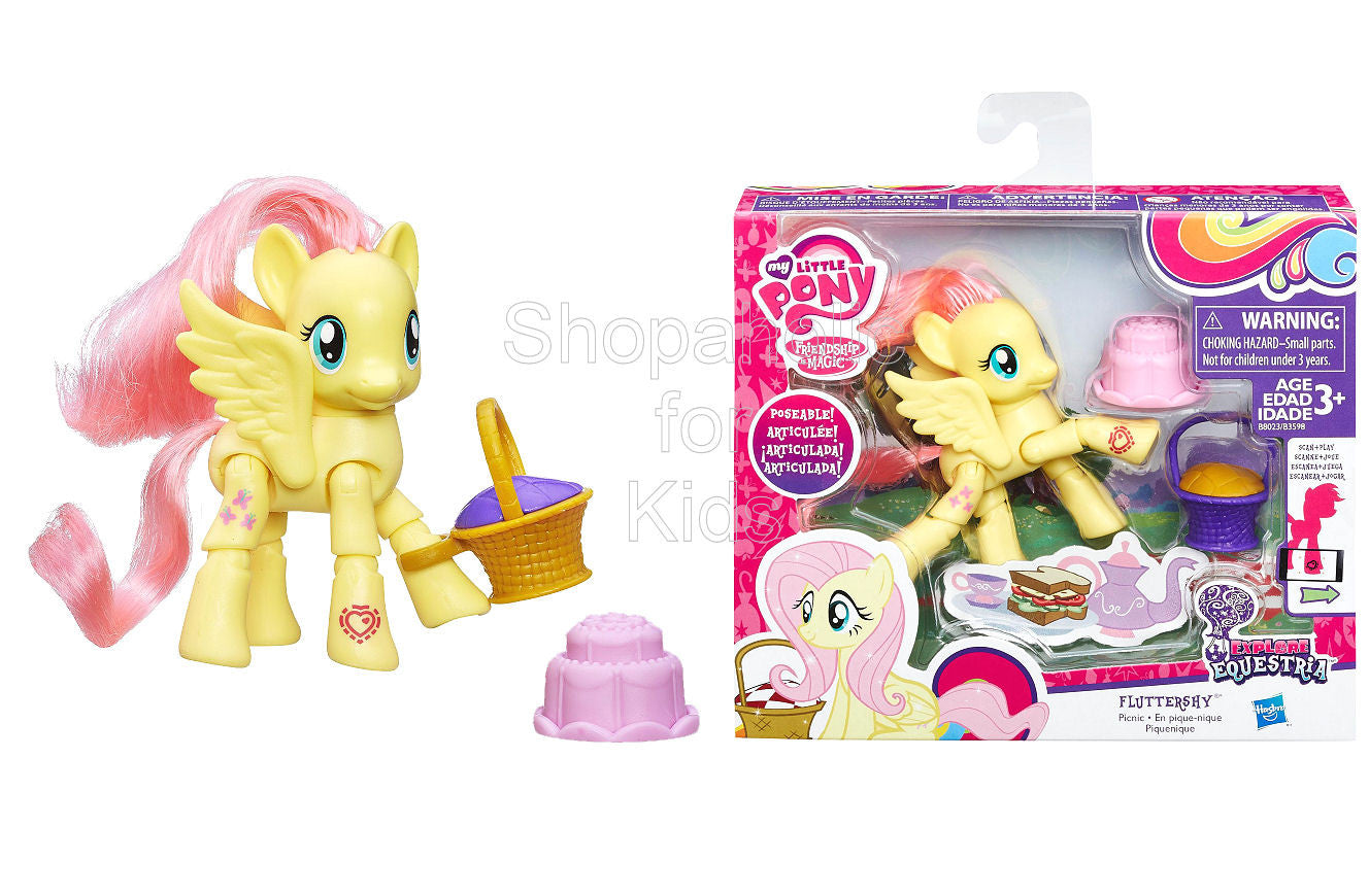 My Little Pony Explore Equestria Fluttershy Picnic Poseable Pony
