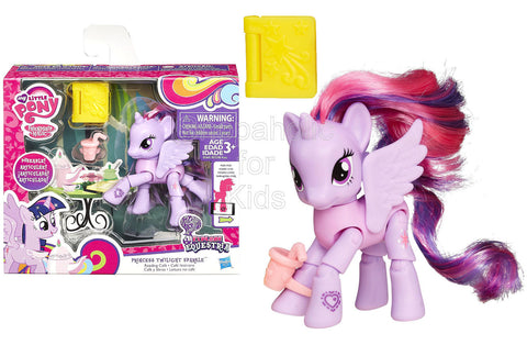 My Little Pony Explore Equestria Princess Twilight Sparkle Reading Cafe Poseable Pony