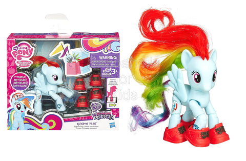 My Little Pony Explore Equestria Rainbow Dash Sightseeing Poseable Pony