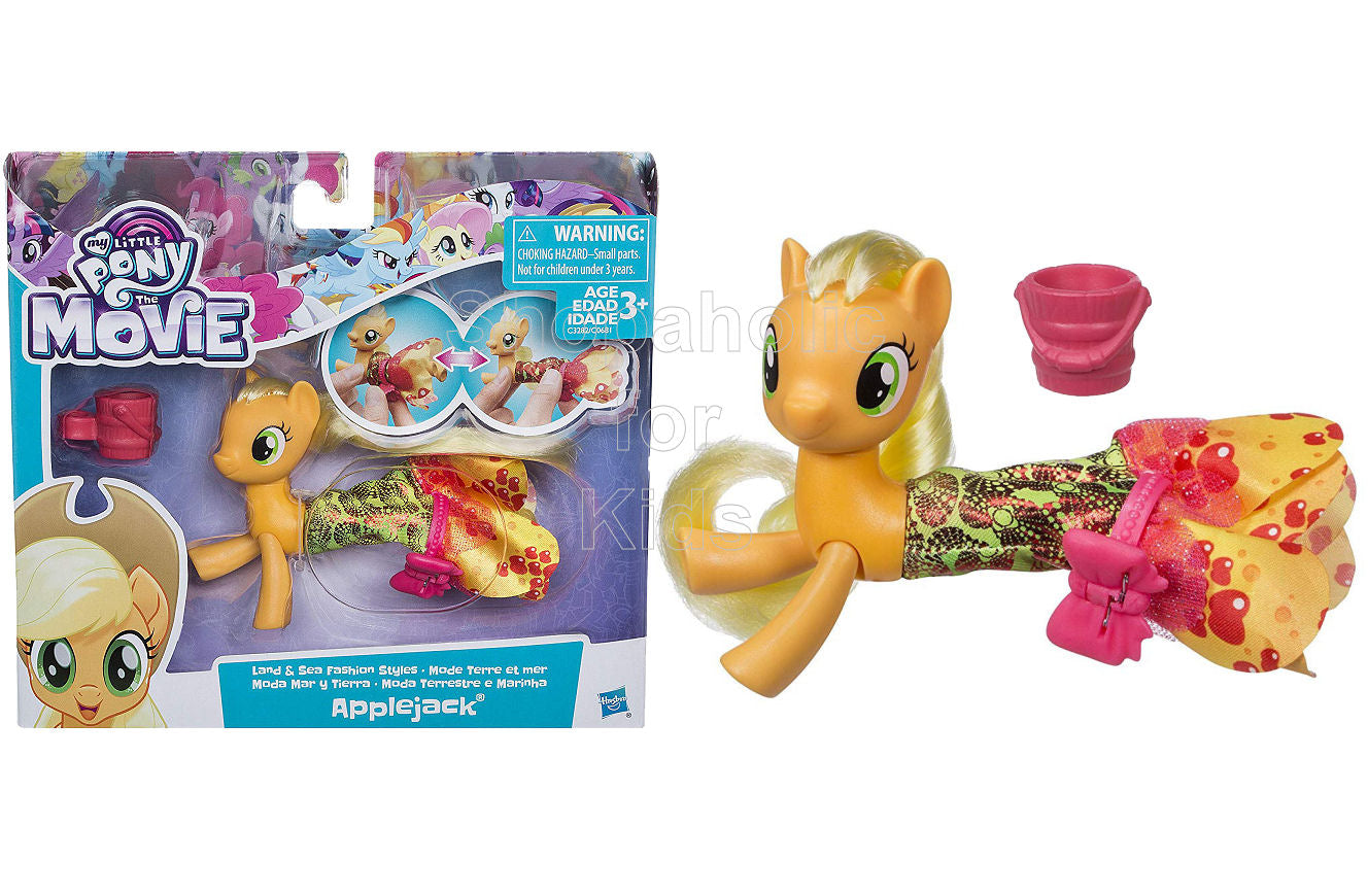 My Little Pony The Movie Applejack Land & Sea Fashion Styles - Shopaholic for Kids