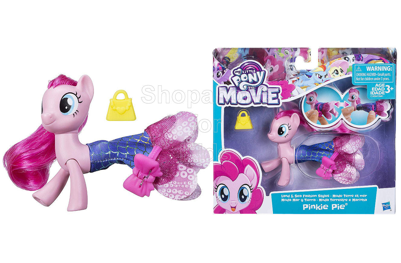My Little Pony The Movie Pinkie Pie Land & Sea Fashion Styles - Shopaholic for Kids