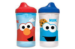 NUK Sesame Street Elmo Hard Spout Cup, 10 Ounce, 2 Pack - Shopaholic for Kids