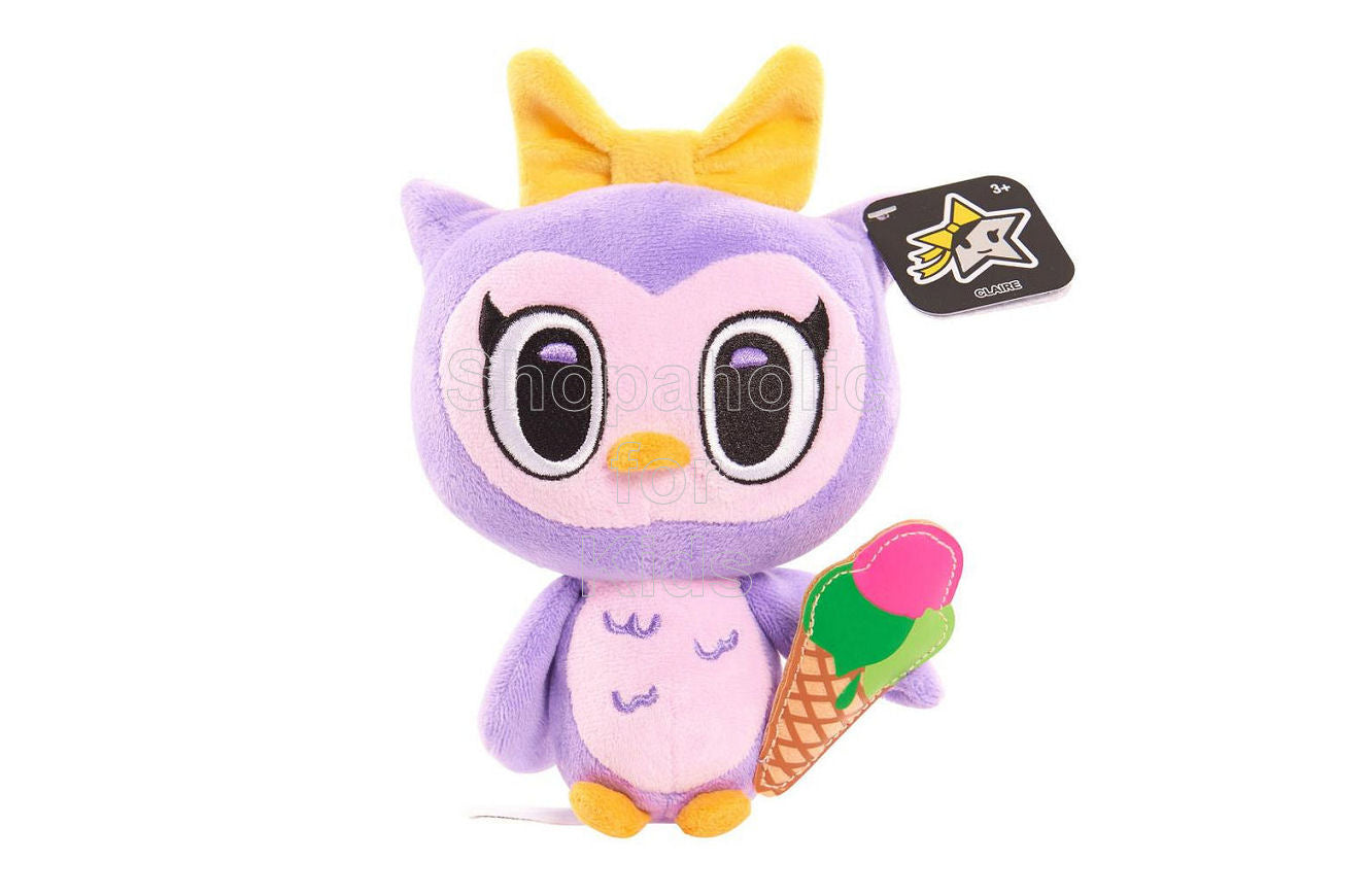 Neon Star by Tokidoki Small Bean Stuffed Owl - Claire - Shopaholic for Kids