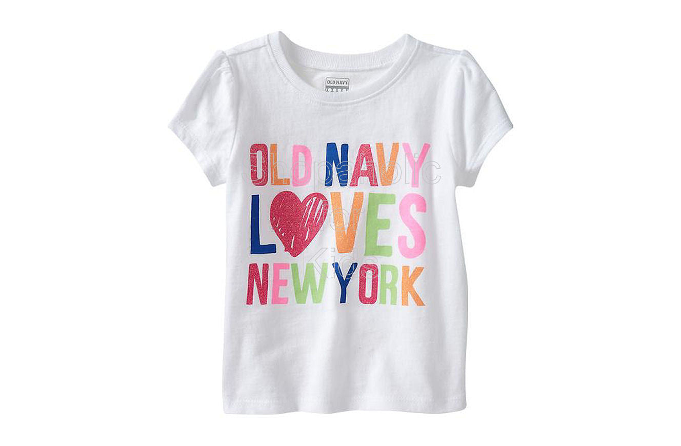 "Old Navy ""New York"" Graphic Tees - Bright White - Shopaholic for Kids"