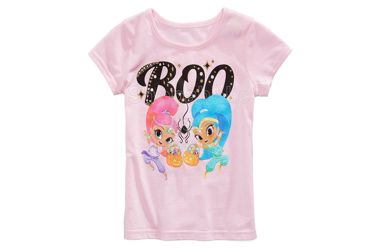 Nickelodeon Shimmer & Shine Boo Candy T-Shirt - Shopaholic for Kids