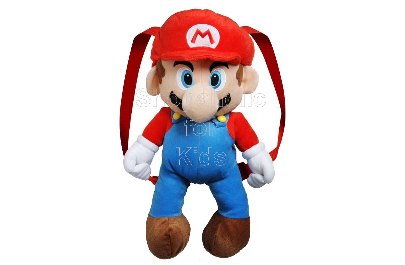Nintendo Super Mario Plush Backpack - Shopaholic for Kids