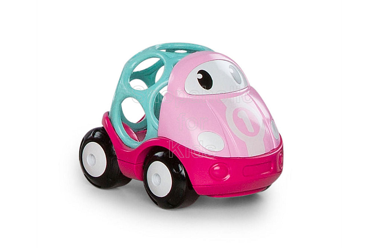 Oball Go Grippers Pink Race Car - Shopaholic for Kids