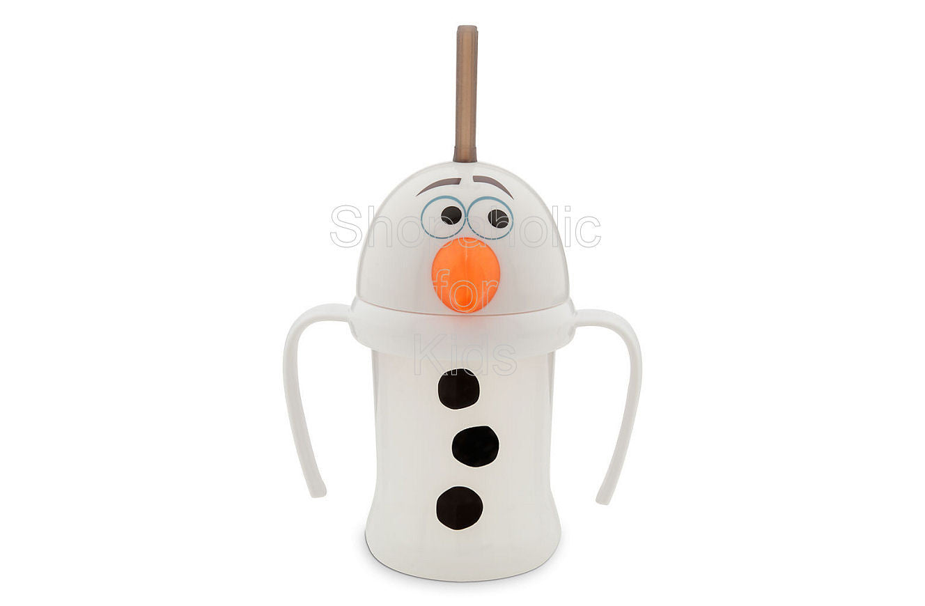 Olaf Cup with Straw for Kids - Frozen - Shopaholic for Kids