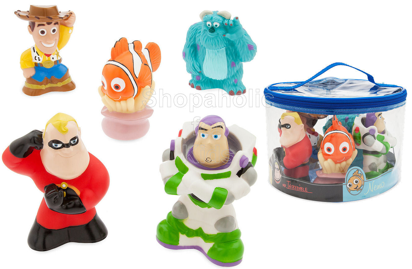 Disney PIXAR Squeeze Toy Set - Shopaholic for Kids