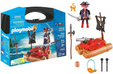 Playmobil Pirate Raft Carry Case Playset - Shopaholic for Kids