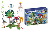 Playmobil Super 4 Lost Island with Alien and Raptor Building Kit - Shopaholic for Kids