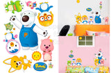 Pororo and Friends Wall Sticker - Shopaholic for Kids
