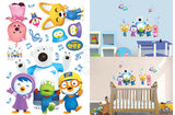 Pororo and Friends Music Notes Wall Sticker - Shopaholic for Kids