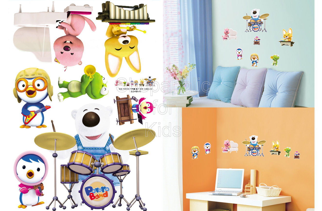 Pororo and Friends Wall Sticker (PPS-58552)