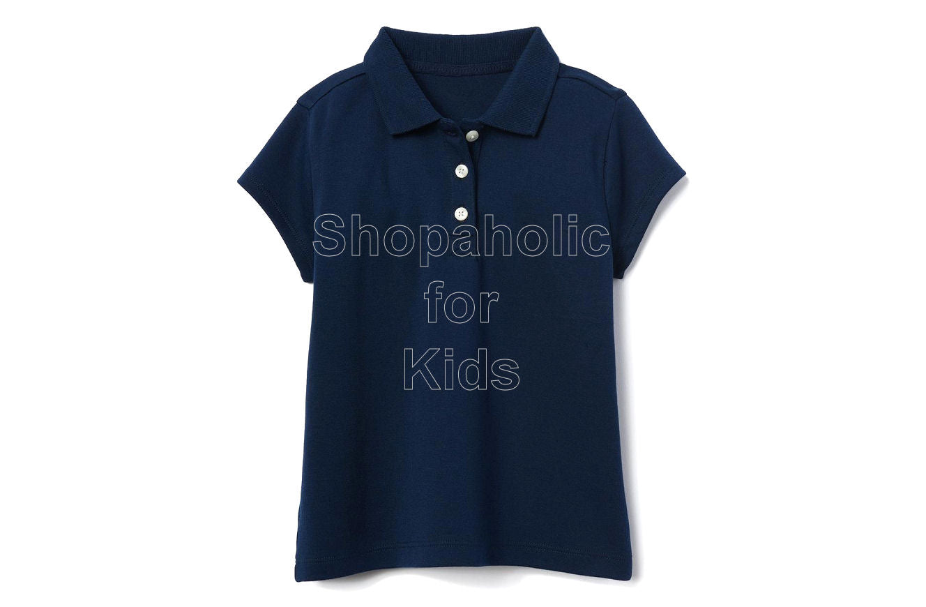 Gymboree Pique Polo for Girls Navy - Shopaholic for Kids
