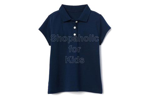 Gymboree Pique Polo for Girls Navy